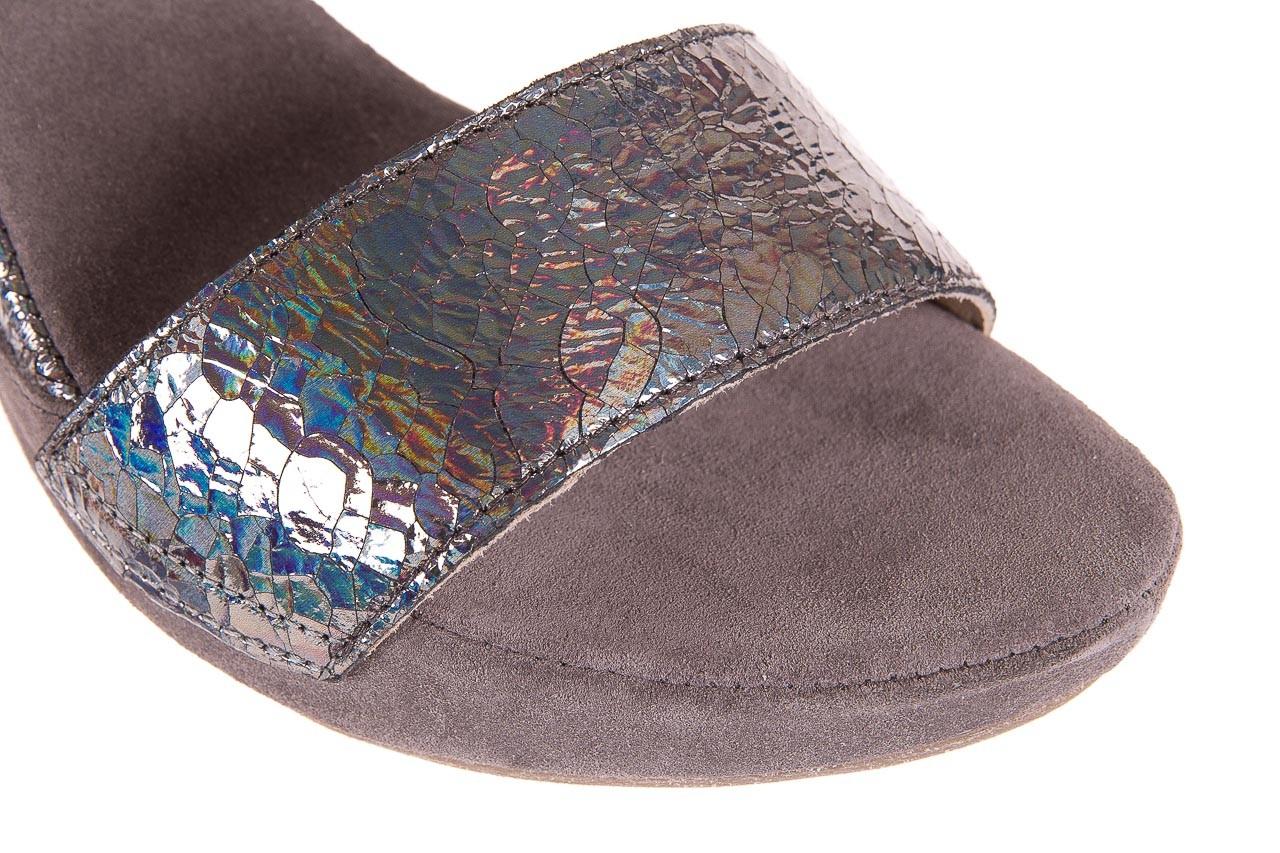 Sandały bayla-131 2711 fucile, szary, skóra naturalna  - sandały - dla niej - dodatkowe -10% 11