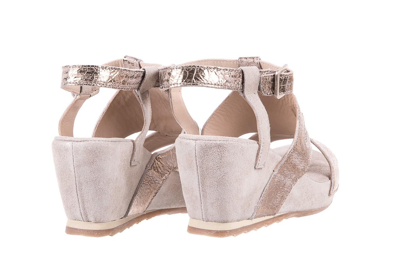 Sandały bayla-131 2714 platino, srebrny, skóra naturalna  - bayla - nasze marki 10