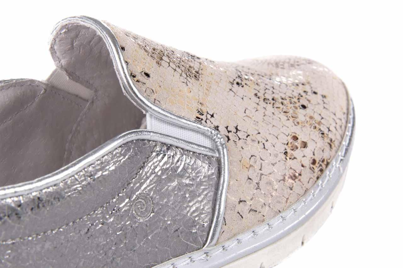 Trampki bayla-131 3904 perla, srebro, skóra naturalna - bayla - nasze marki 11