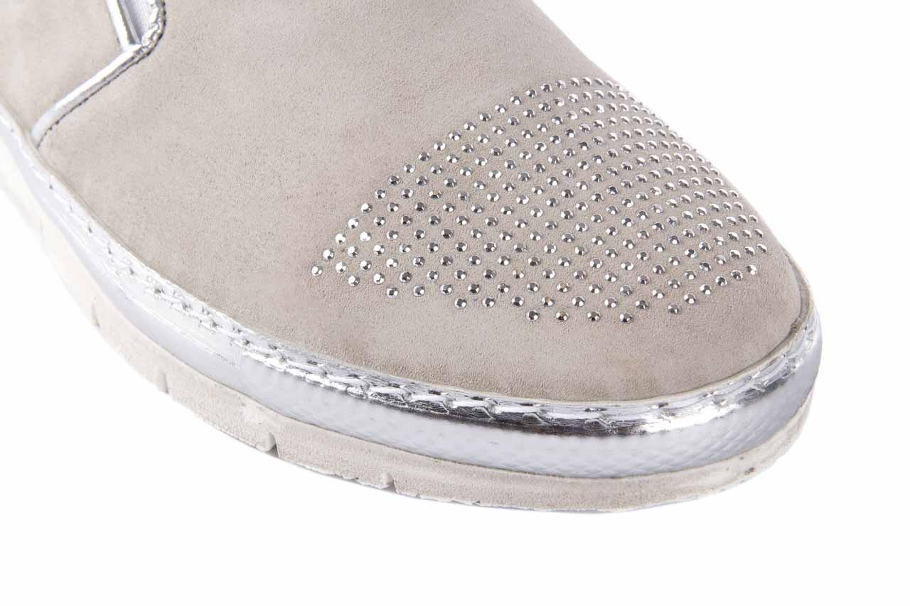 Trampki bayla-131 3912 perla, beż, skóra naturalna - bayla - nasze marki 11