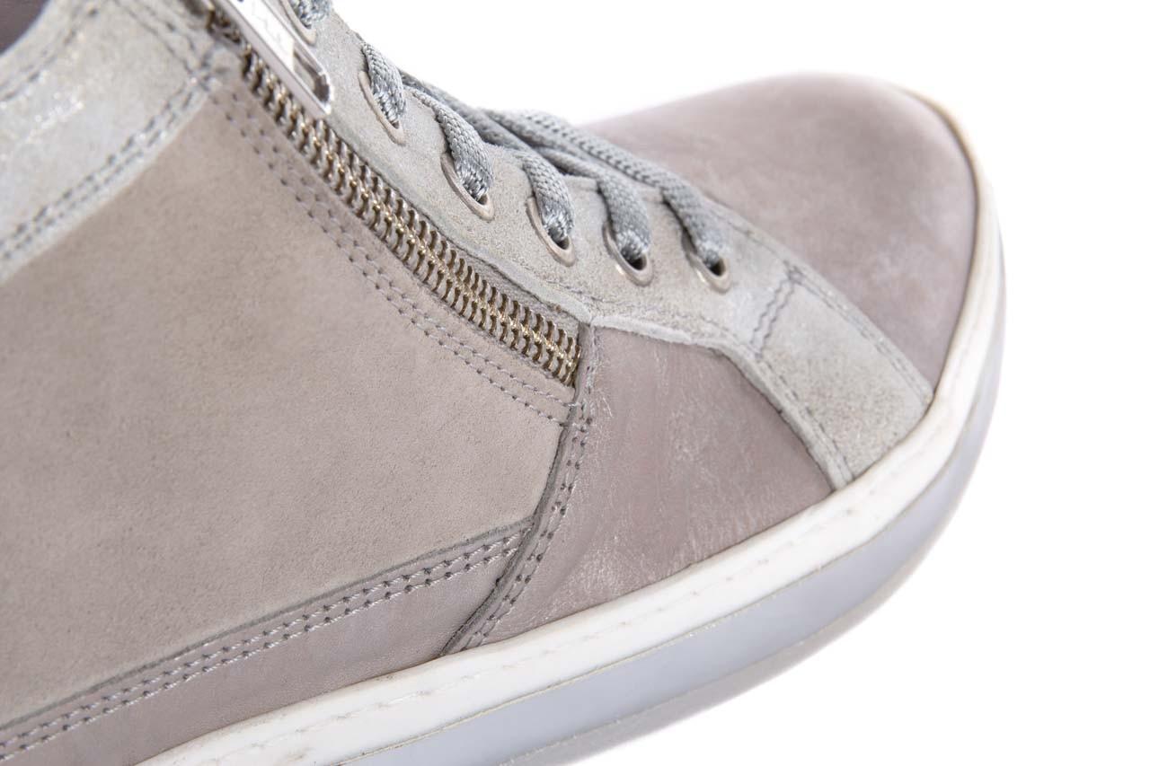 Półbuty bayla-131 4002 platino, skóra naturalna - wysokie - trampki - buty damskie - kobieta 11