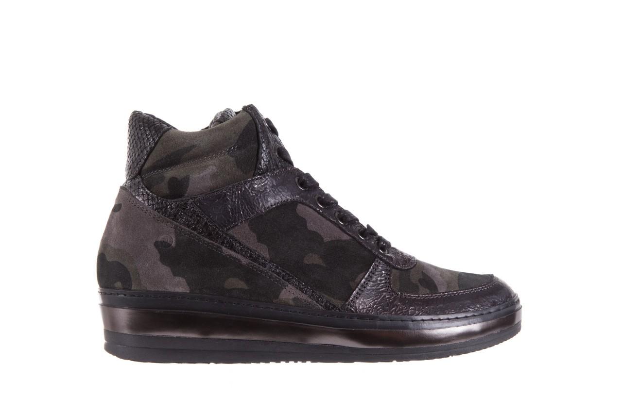 Sneakersy bayla-131 4002 woodland, moro, skóra naturalna  - sneakersy - buty damskie - kobieta 6