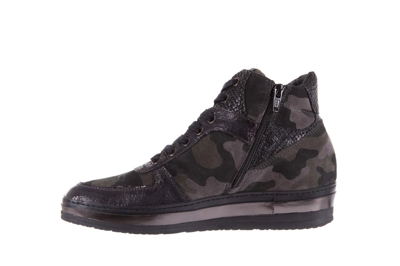 Sneakersy bayla-131 4002 woodland, moro, skóra naturalna  - sneakersy - buty damskie - kobieta 8