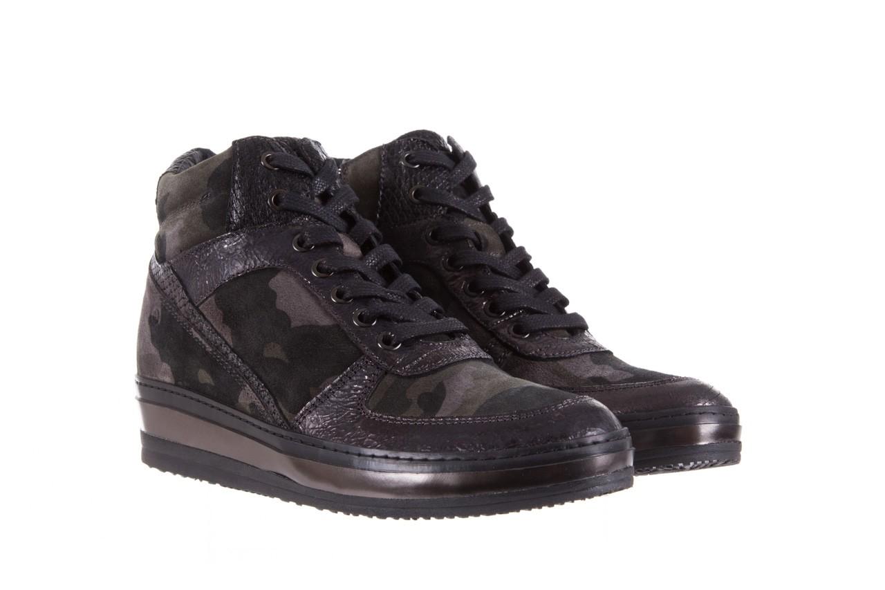 Sneakersy bayla-131 4002 woodland, moro, skóra naturalna  - sneakersy - buty damskie - kobieta 7