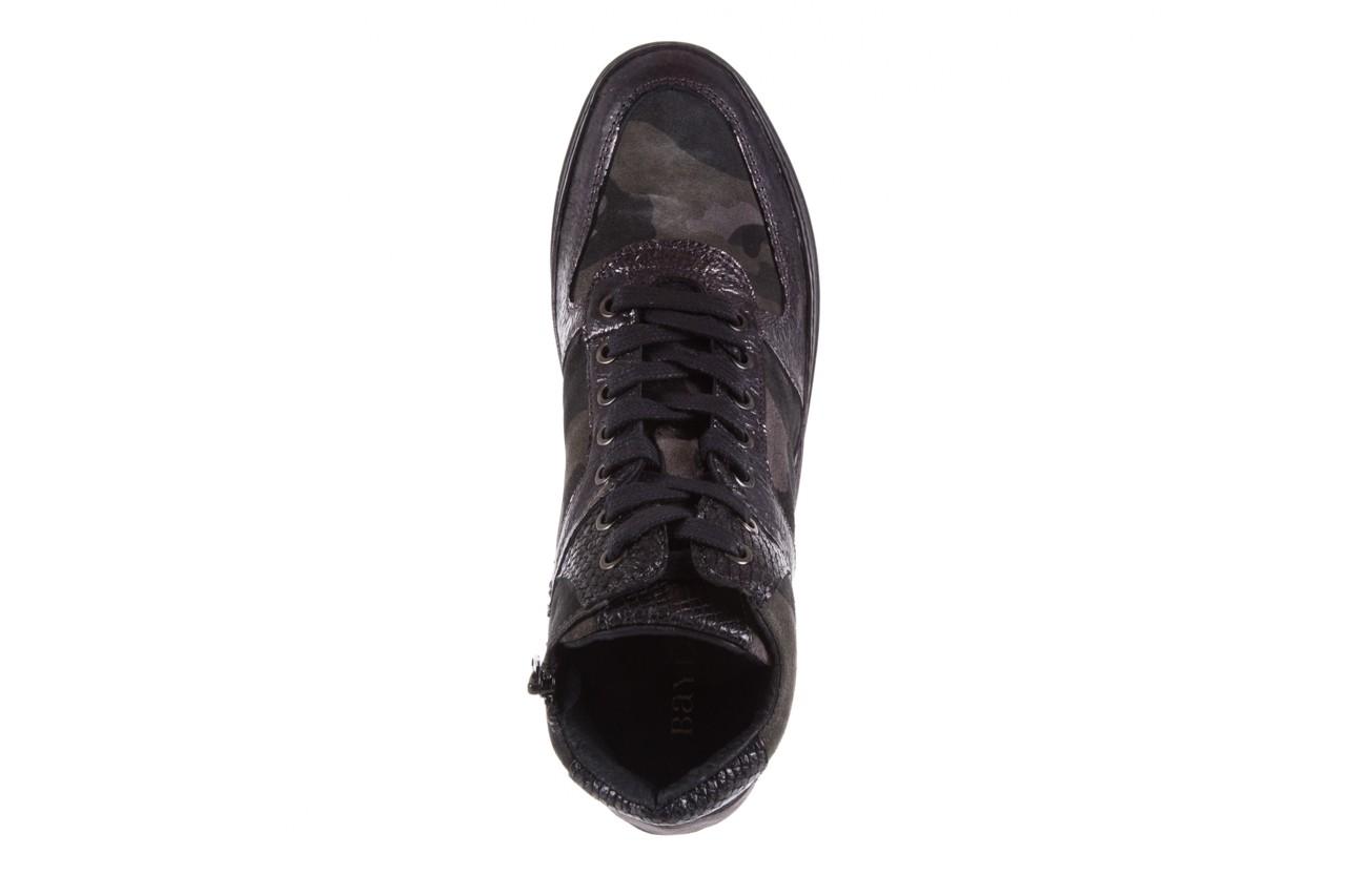 Sneakersy bayla-131 4002 woodland, moro, skóra naturalna  - sneakersy - buty damskie - kobieta 10