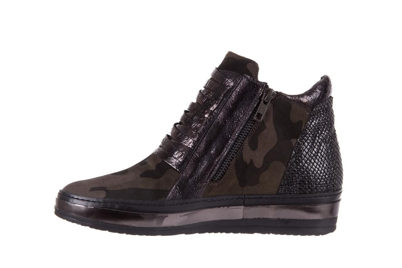Sneakersy bayla-131 4006 grey, szary, skóra naturalna  - obuwie sportowe - dla niej - dodatkowe -10% 9