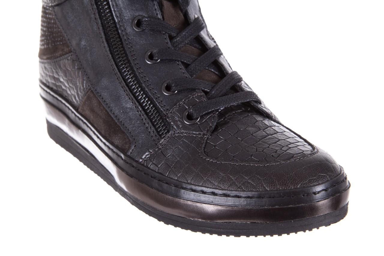 Sneakersy bayla-131 4011 topo, skóra naturalna  - bayla - nasze marki 12