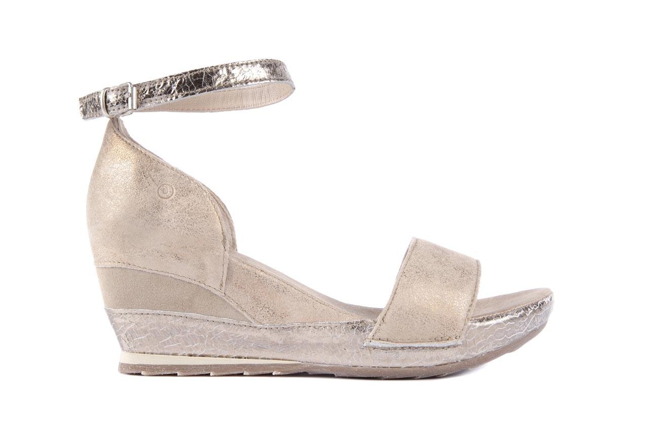 Sandały bayla-131 4813 gold , beż, skóra naturalna - bayla - nasze marki 6