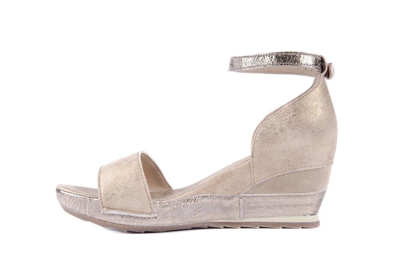 Sandały bayla-131 4813 gold , beż, skóra naturalna - bayla - nasze marki 8