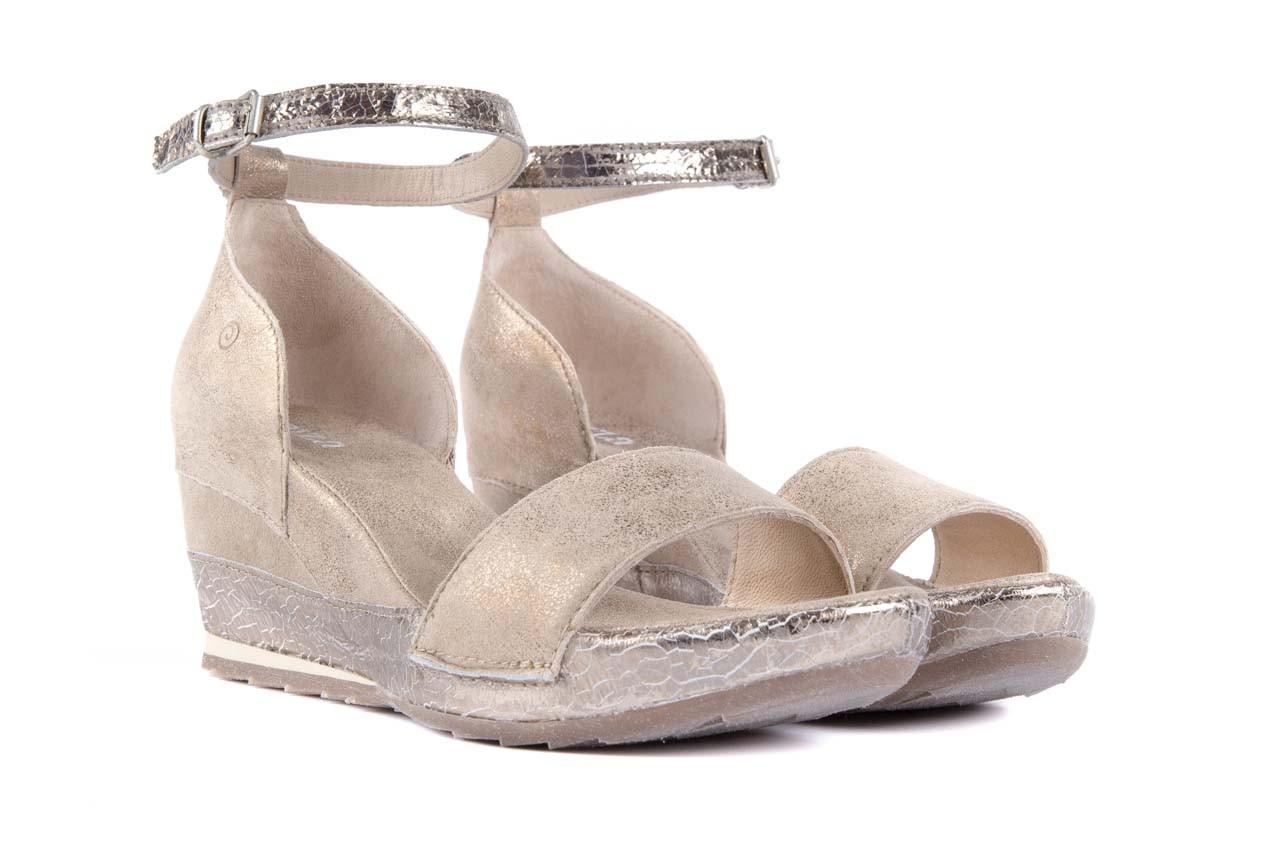 Sandały bayla-131 4813 gold , beż, skóra naturalna - bayla - nasze marki 7