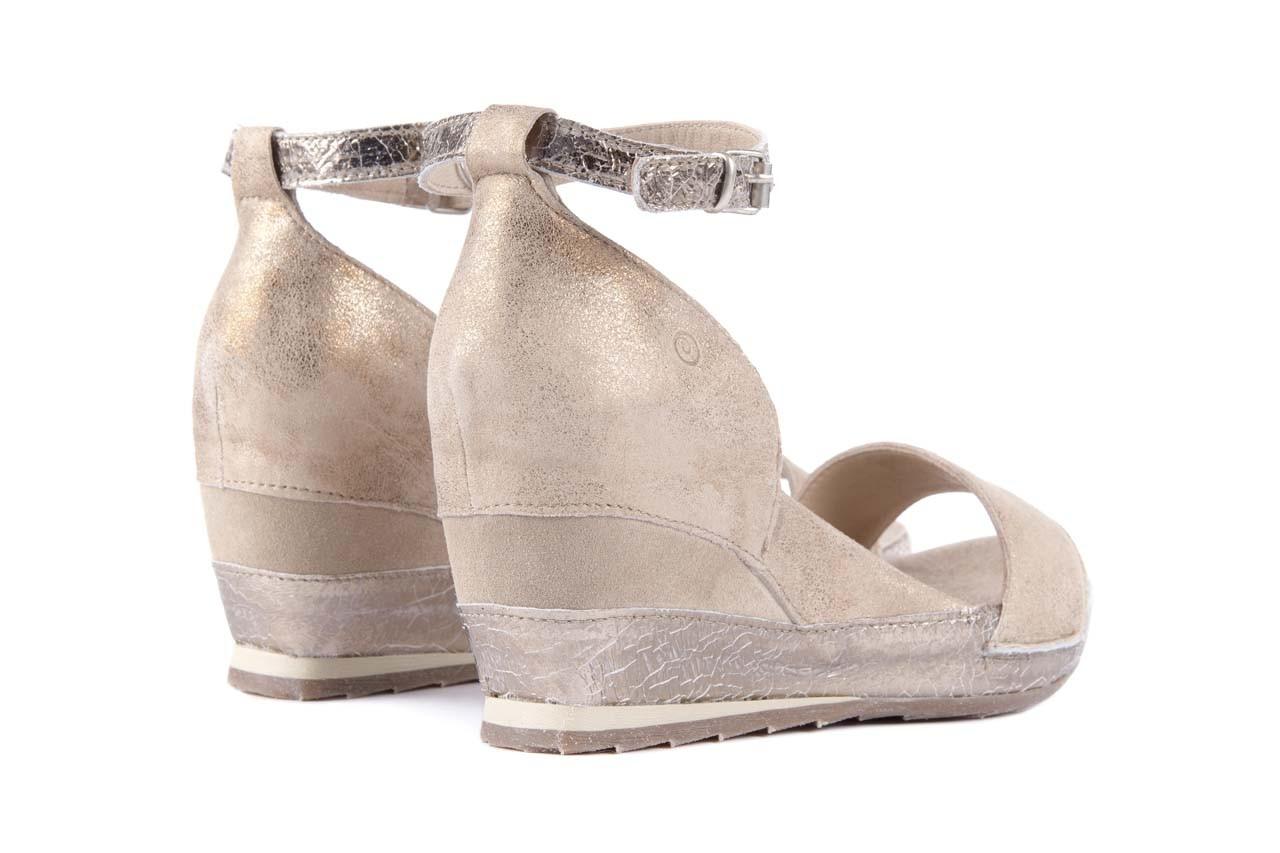 Sandały bayla-131 4813 gold , beż, skóra naturalna - bayla - nasze marki 9