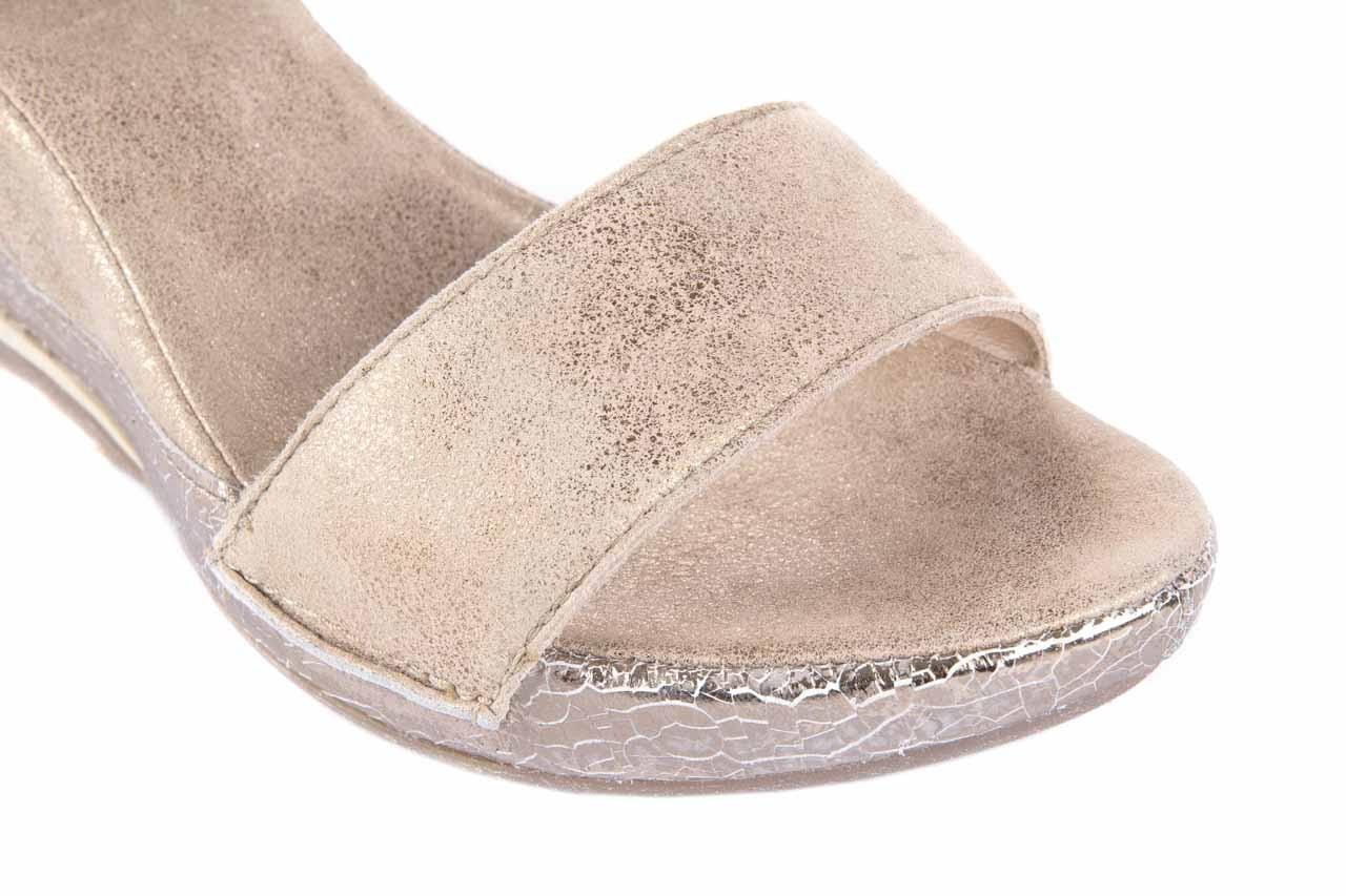 Sandały bayla-131 4813 gold , beż, skóra naturalna - bayla - nasze marki 11