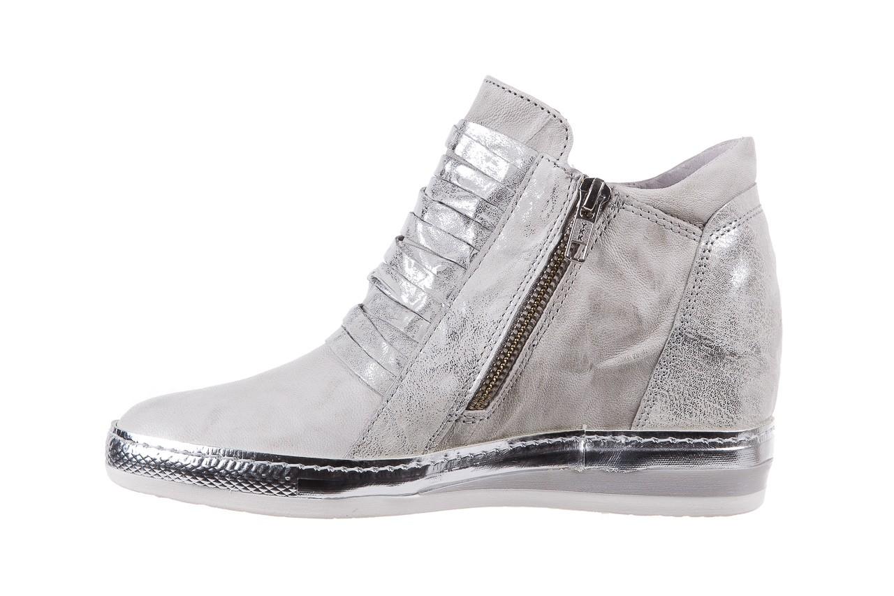 Sneakersy bayla-131 7107 zinco, srebrny, skóra naturalna  - bayla - nasze marki 8