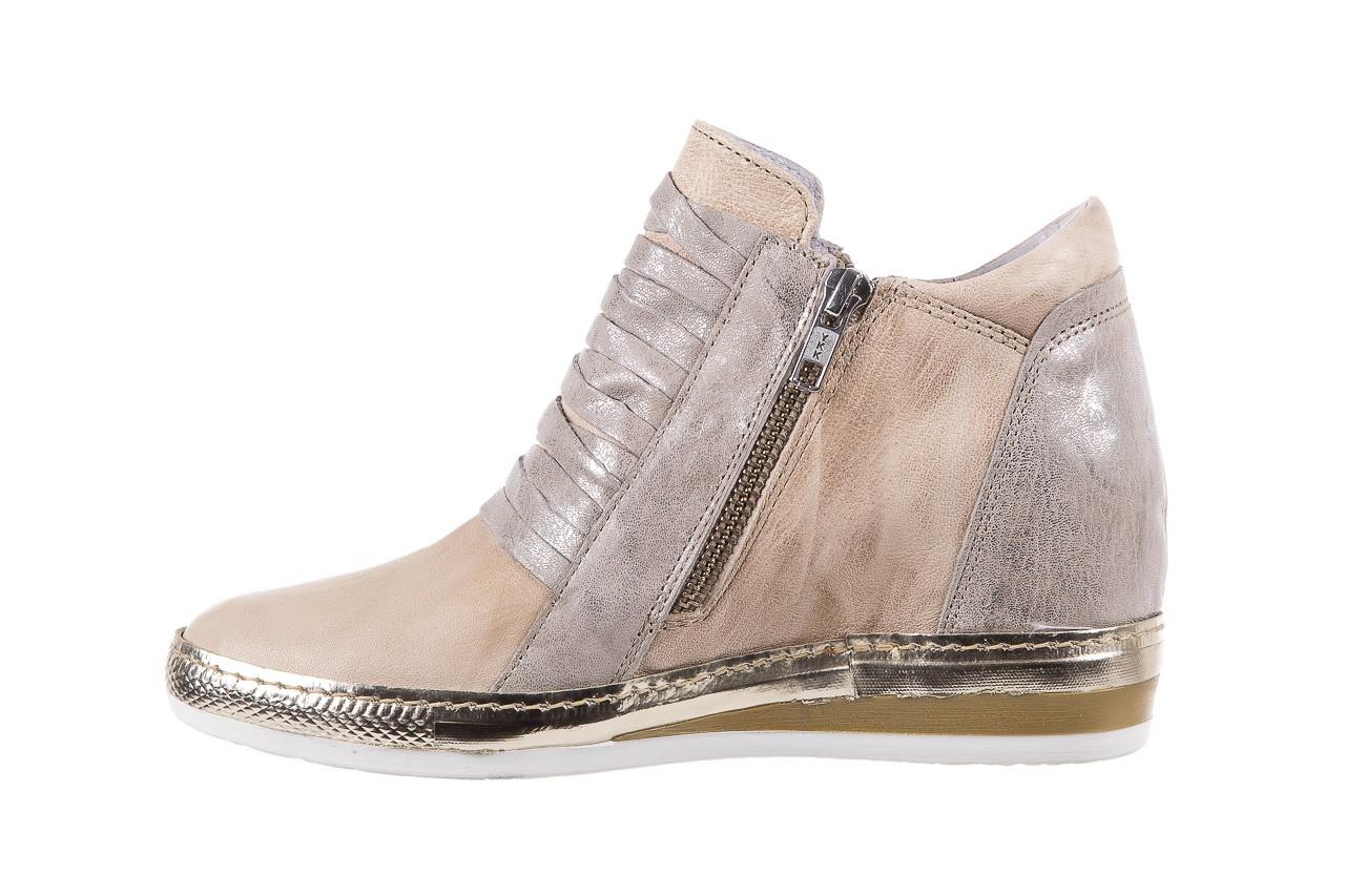 Sneakersy bayla-131 7107 deserto, beż/szary, skóra naturalna  - bayla - nasze marki 9