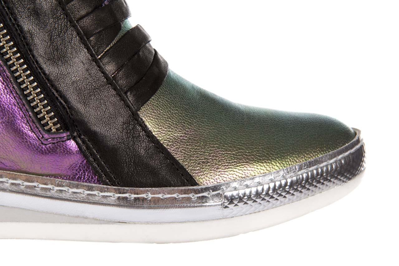 Sneakersy bayla-131 7107 iride, wielokolorowy, skóra naturalna - bayla - nasze marki 9