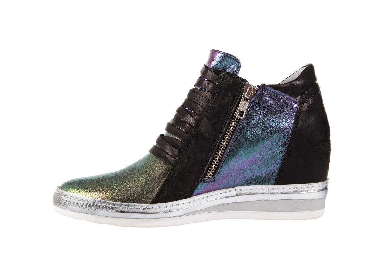 Sneakersy bayla-131 7107 iride, wielokolorowy, skóra naturalna - bayla - nasze marki 7