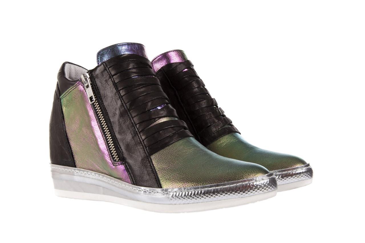 Sneakersy bayla-131 7107 iride, wielokolorowy, skóra naturalna - bayla - nasze marki 6
