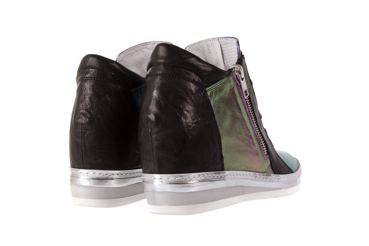 Sneakersy bayla-131 7107 iride, wielokolorowy, skóra naturalna - bayla - nasze marki 8