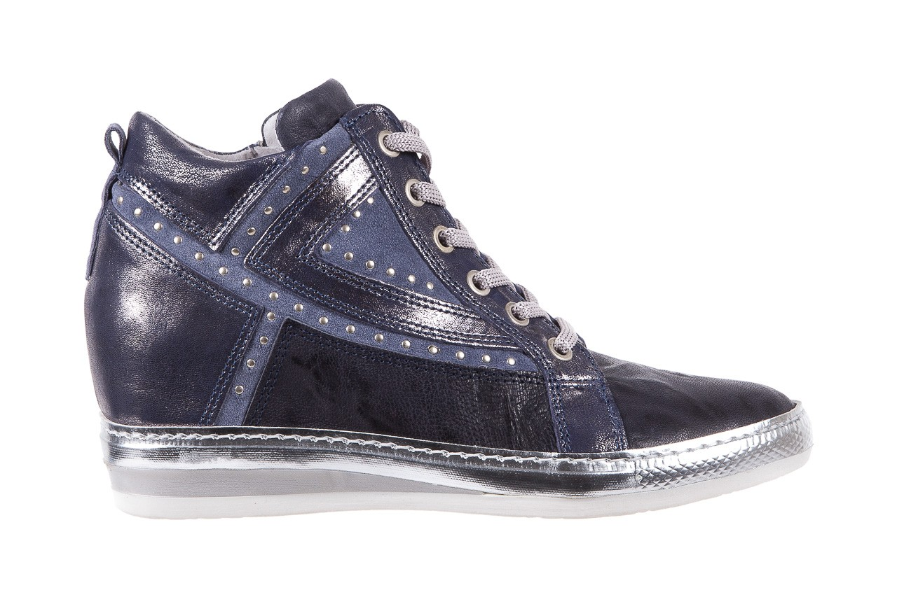 Sneakersy bayla-131 7113 oceano, granat, skóra naturalna  - bayla - nasze marki 7