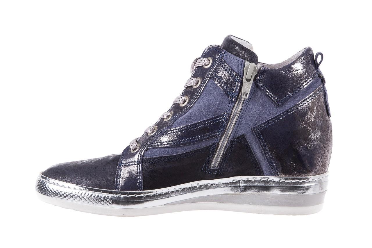 Sneakersy bayla-131 7113 oceano, granat, skóra naturalna  - bayla - nasze marki 9