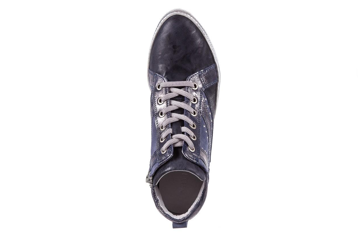 Sneakersy bayla-131 7113 oceano, granat, skóra naturalna  - bayla - nasze marki 11