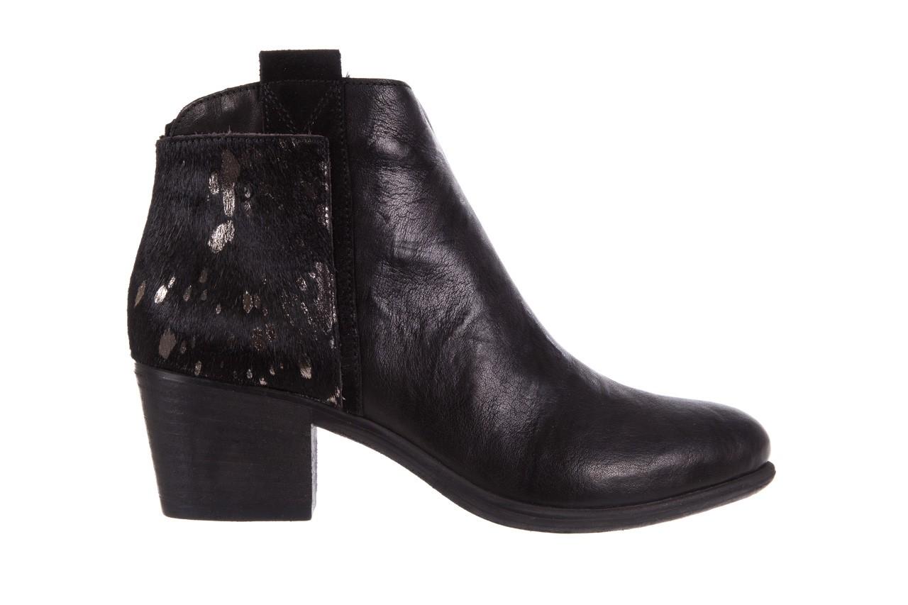 Botki bayla-131 7705 nero, czarny, skóra naturalna  - worker boots - trendy - kobieta 8