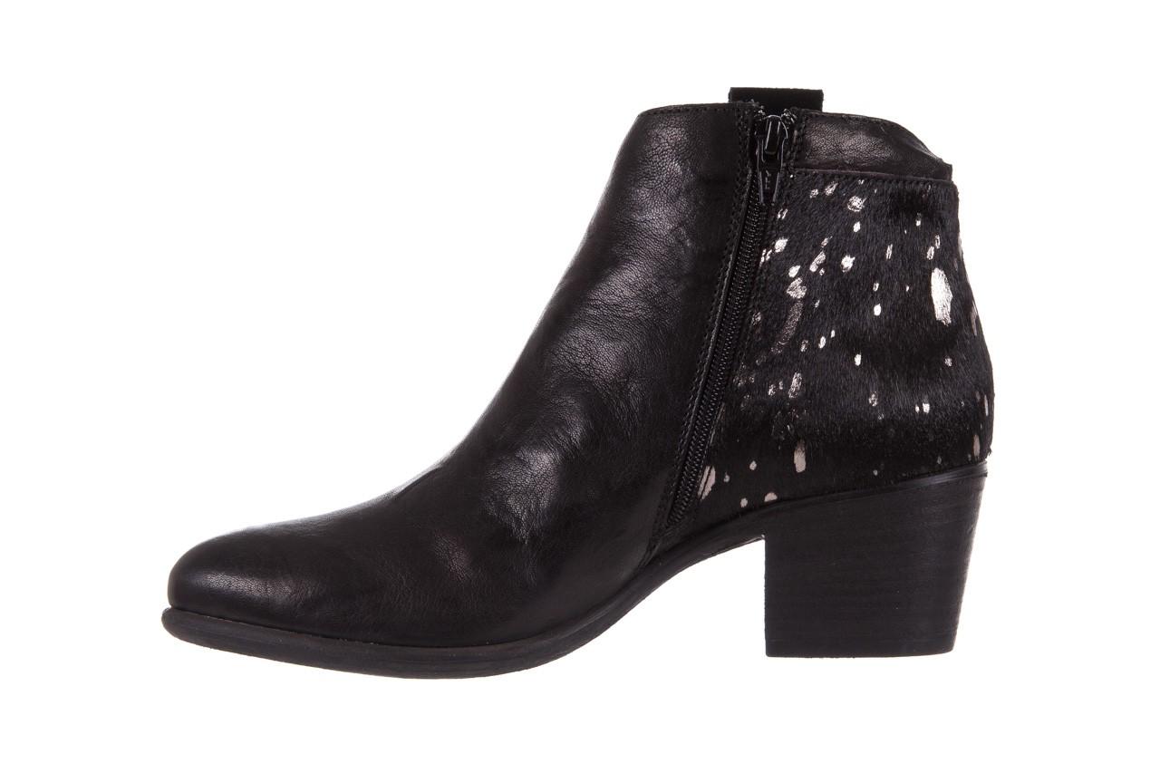 Botki bayla-131 7705 nero, czarny, skóra naturalna  - worker boots - trendy - kobieta 10
