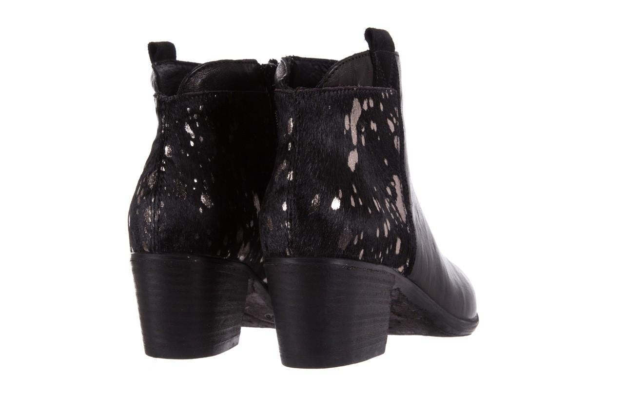 Botki bayla-131 7705 nero, czarny, skóra naturalna  - worker boots - trendy - kobieta 11
