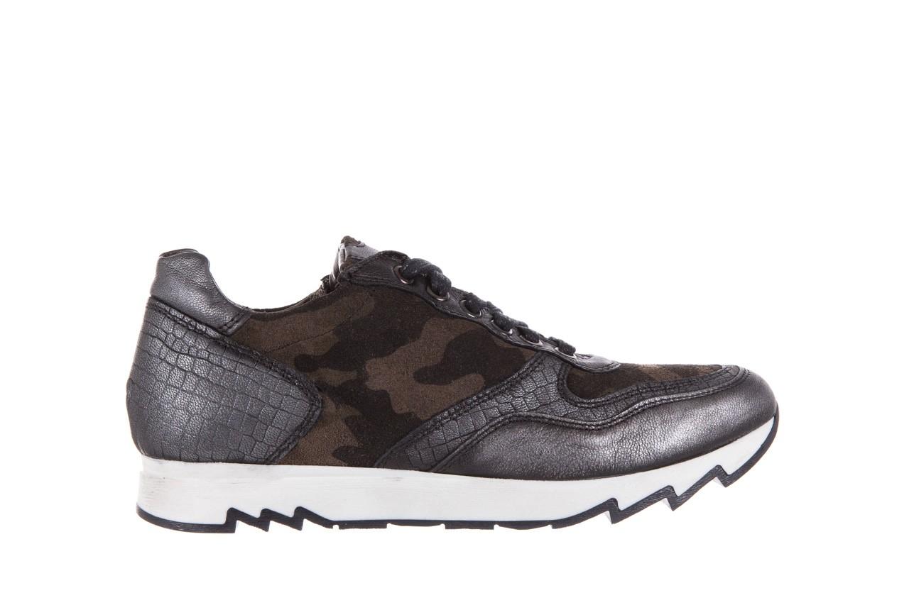 Sneakersy bayla-131 8401 grey, skóra naturalna  - obuwie sportowe - dla niej - dodatkowe -10% 7