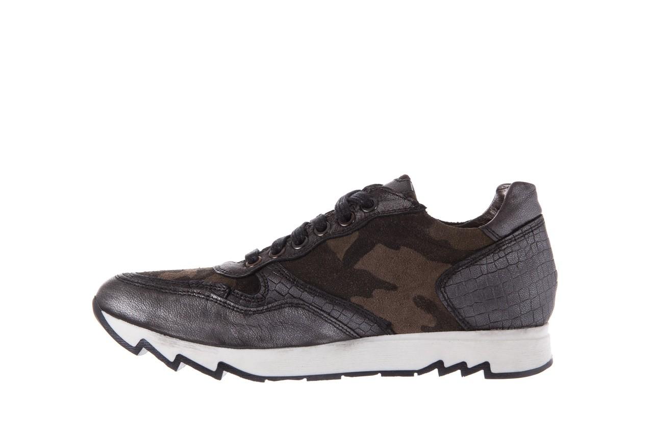 Sneakersy bayla-131 8401 grey, skóra naturalna  - obuwie sportowe - dla niej - dodatkowe -10% 9