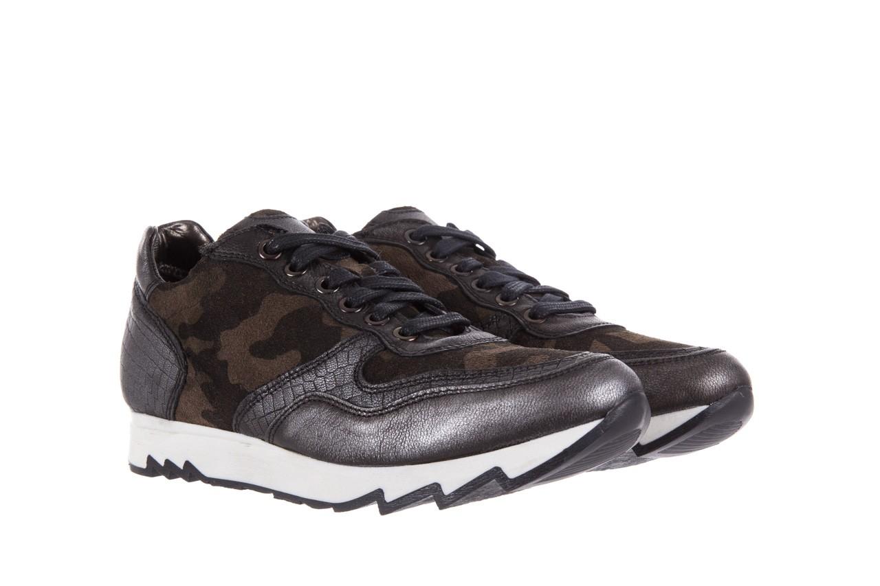 Sneakersy bayla-131 8401 grey, skóra naturalna  - obuwie sportowe - dla niej - dodatkowe -10% 8