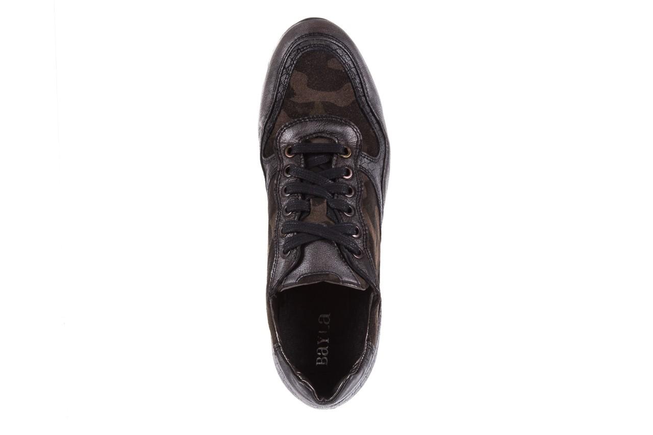 Sneakersy bayla-131 8401 grey, skóra naturalna  - obuwie sportowe - dla niej - dodatkowe -10% 11