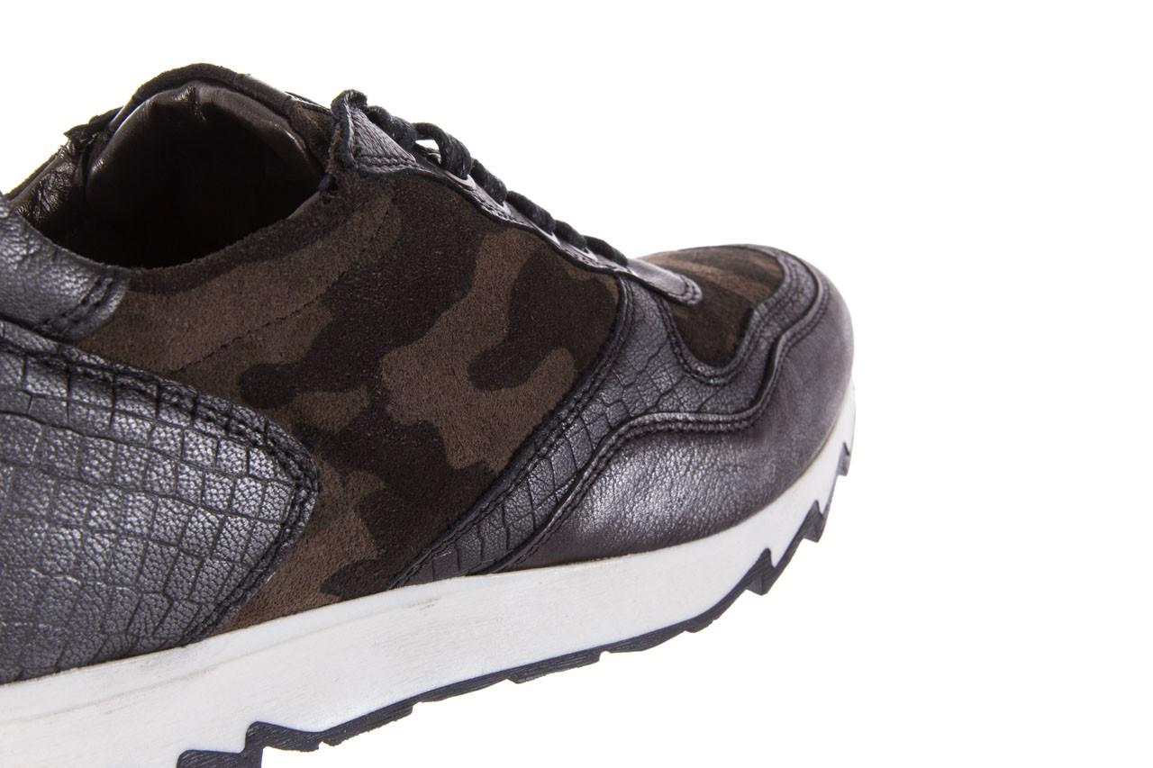 Sneakersy bayla-131 8401 grey, skóra naturalna  - obuwie sportowe - dla niej - dodatkowe -10% 12