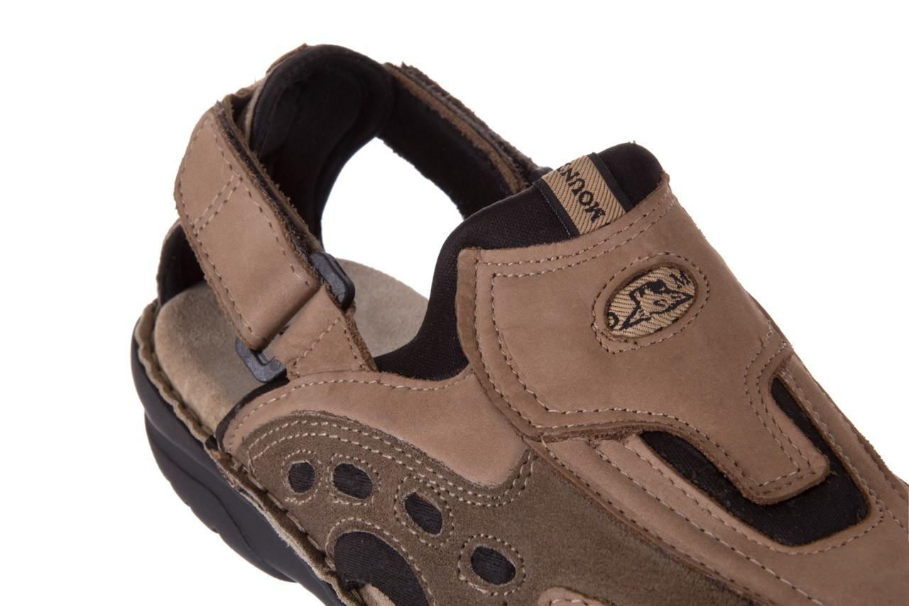 Sandały bayla-133 9522 nabuc tortora, brąz, skóra naturalna  - sandały - dla niego - sale 11
