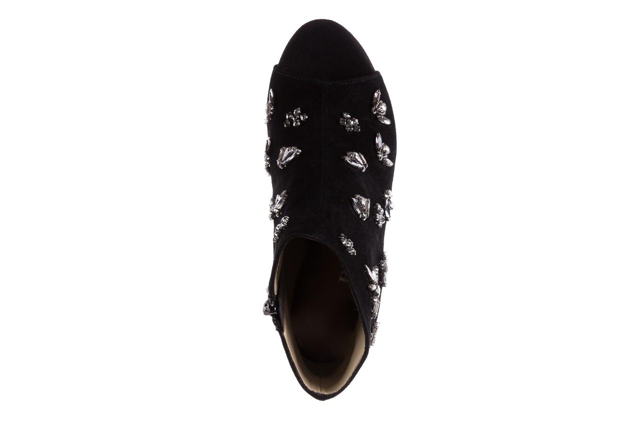 Botki bayla-144 pj010h-105-1a black, czarny, skóra naturalna  - na szpilce - botki - buty damskie - kobieta 12