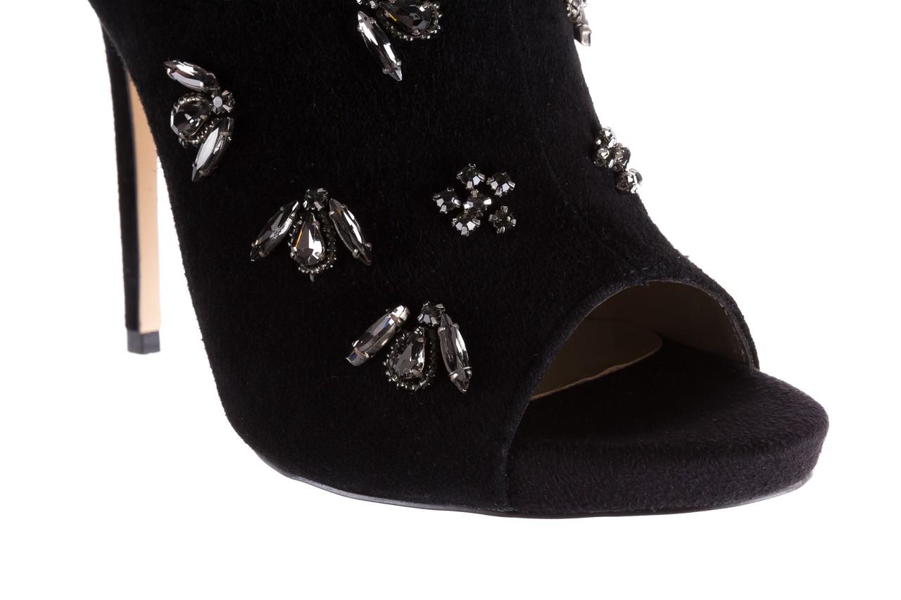 Botki bayla-144 pj010h-105-1a black, czarny, skóra naturalna  - na szpilce - botki - buty damskie - kobieta 13