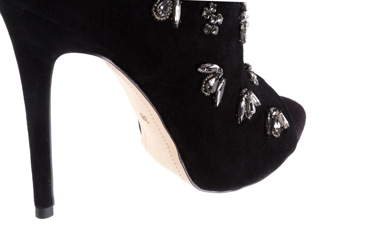 Botki bayla-144 pj010h-105-1a black, czarny, skóra naturalna  - na szpilce - botki - buty damskie - kobieta 14