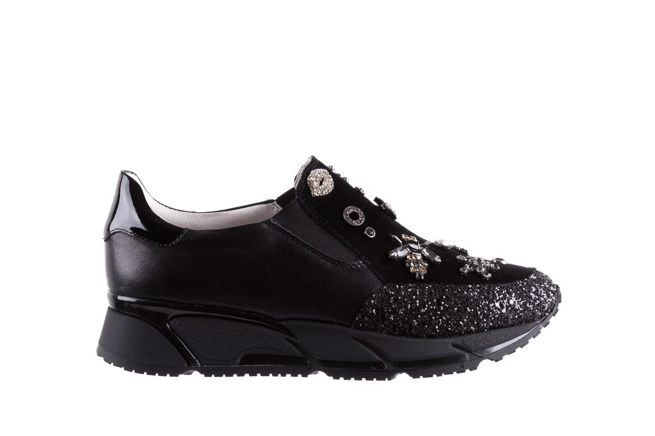 Sneakersy bayla-144 pj722l-16-1a black, czarny, skóra naturalna  - bayla - nasze marki 8