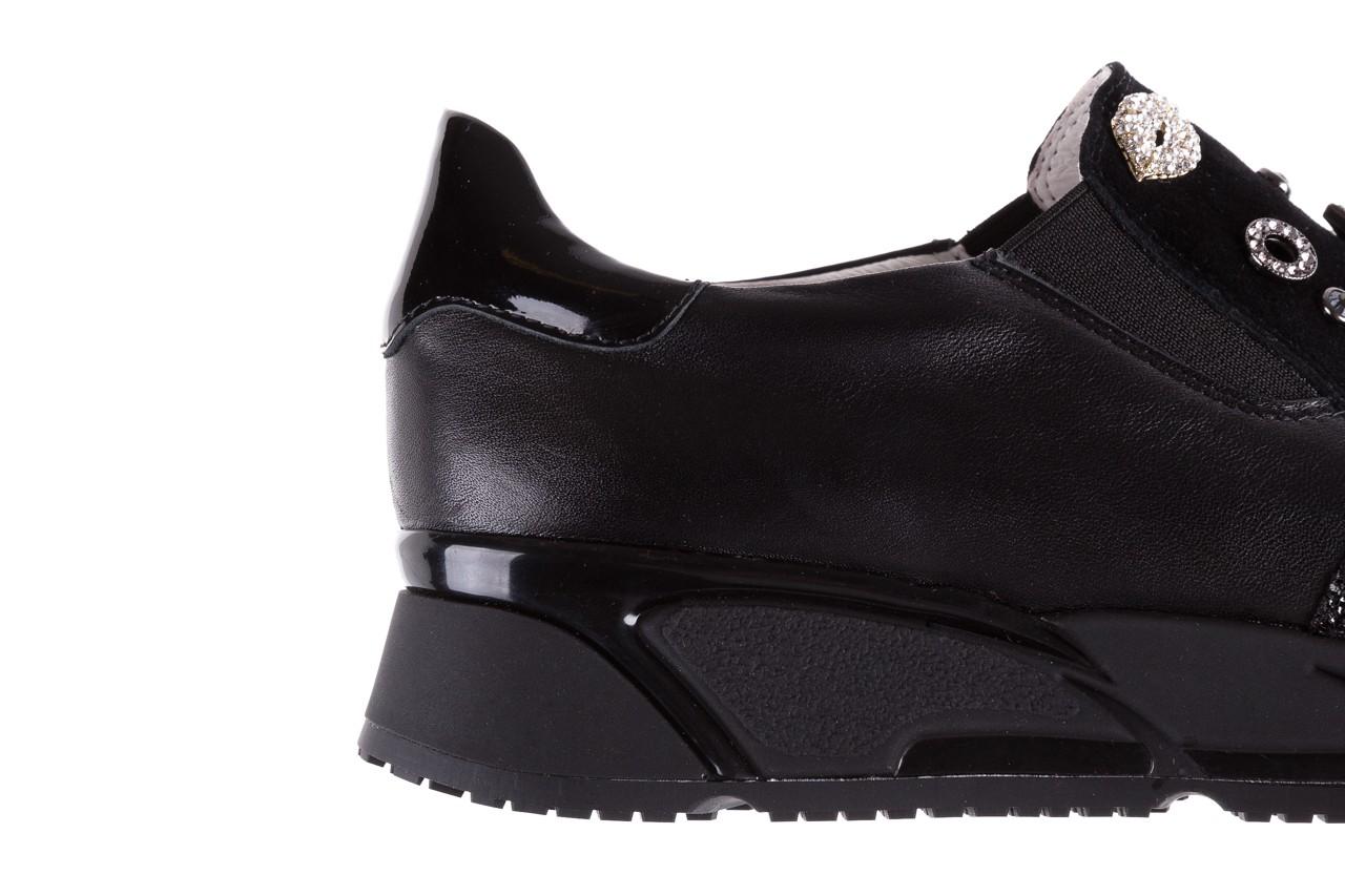 Sneakersy bayla-144 pj722l-16-1a black, czarny, skóra naturalna  - bayla - nasze marki 15