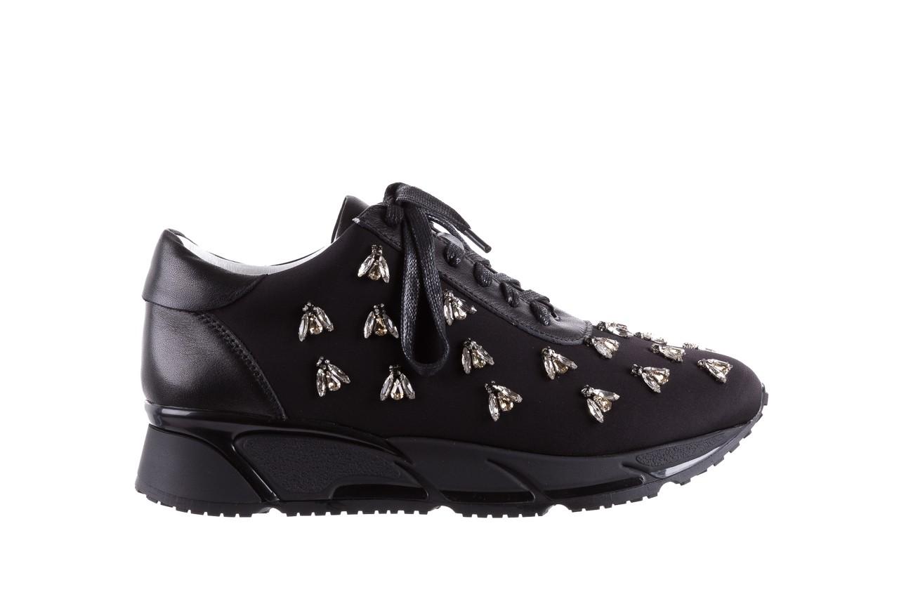Sneakersy bayla-144 pj722l pj718l-9-1n black, czarny, skóra naturalna  - bayla - nasze marki 8