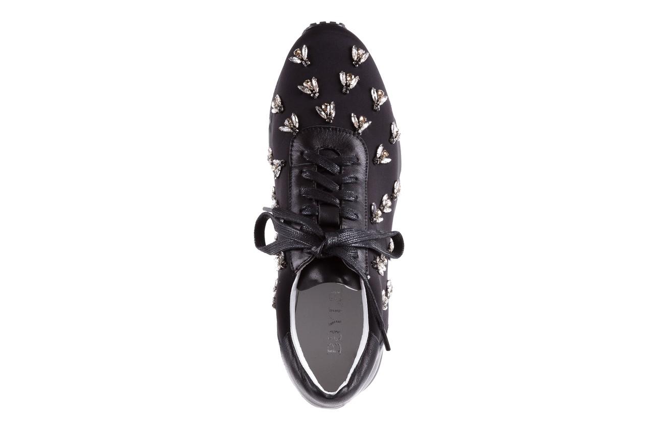 Sneakersy bayla-144 pj722l pj718l-9-1n black, czarny, skóra naturalna  - bayla - nasze marki 12