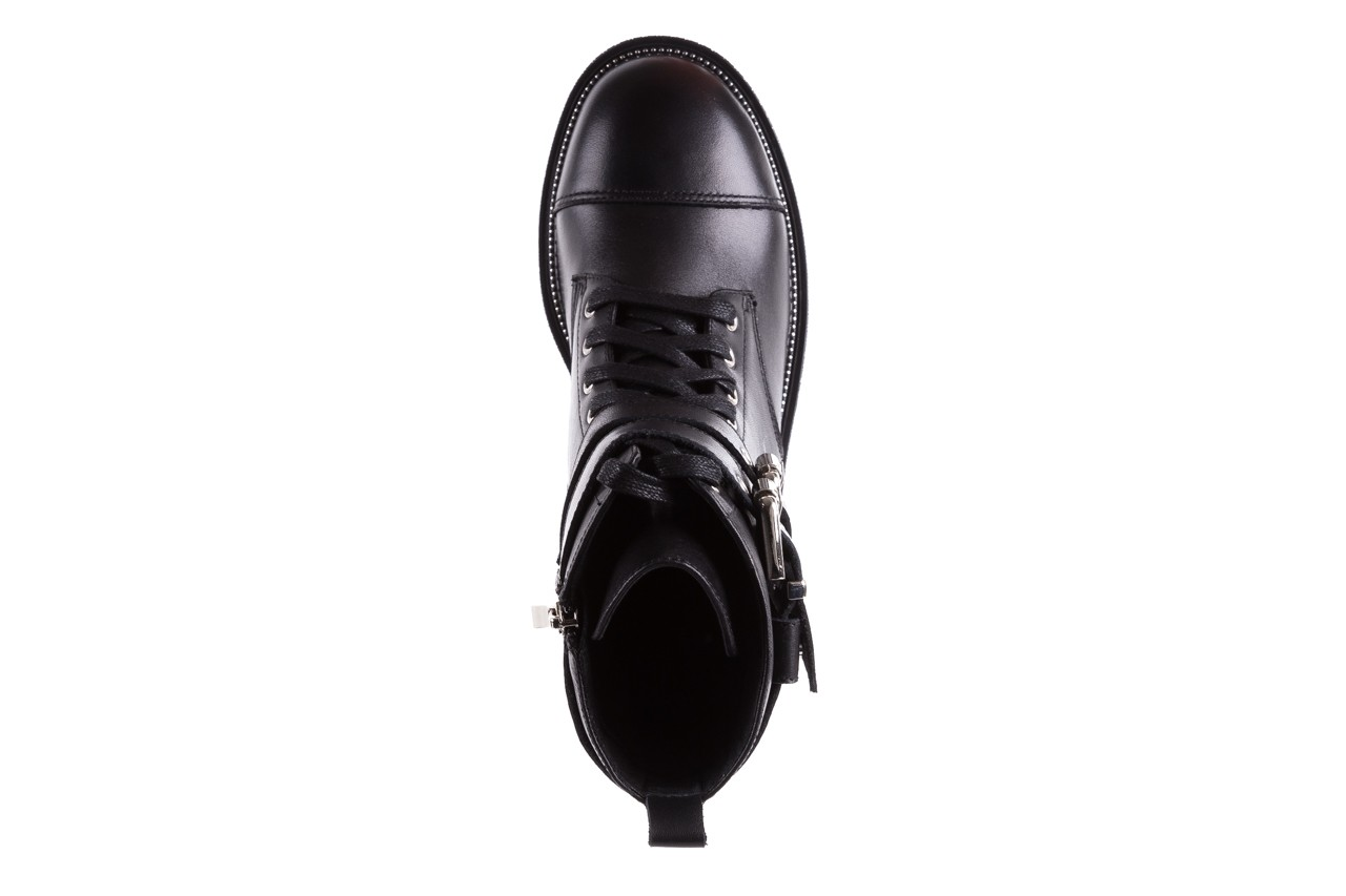 Trzewiki bayla-144 pj759h-2-1n black, czarny, skóra naturalna  - bayla - nasze marki 13