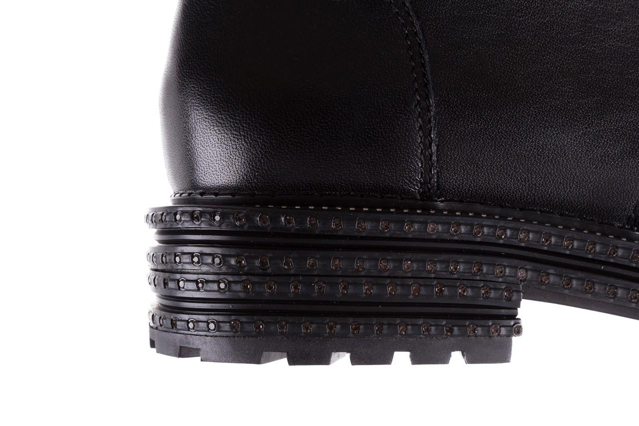 Trzewiki bayla-144 pj759h-2-1n black, czarny, skóra naturalna  - bayla - nasze marki 17