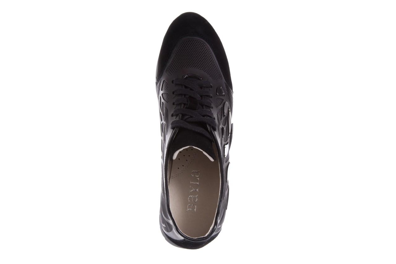 Sneakersy bayla-144 pj926l-2-1a black, skóra naturalna  - bayla - nasze marki 11