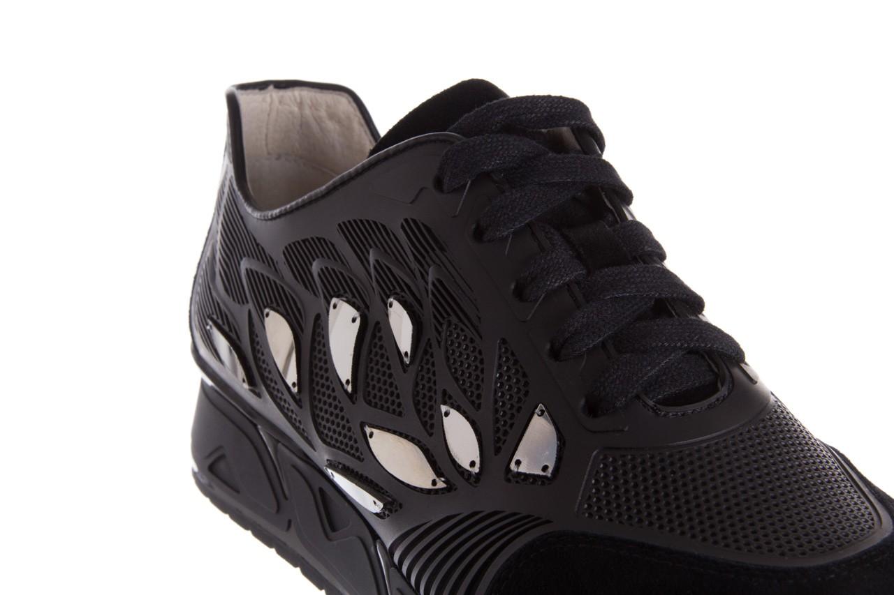 Sneakersy bayla-144 pj926l-2-1a black, skóra naturalna  - bayla - nasze marki 13