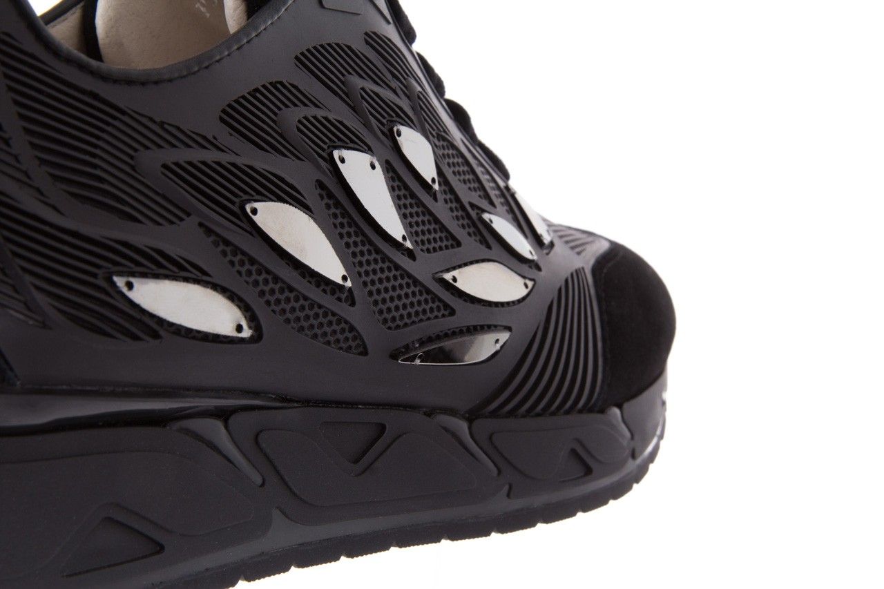 Sneakersy bayla-144 pj926l-2-1a black, skóra naturalna  - bayla - nasze marki 12