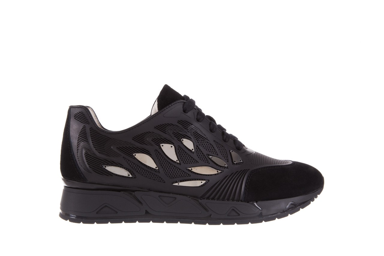 Sneakersy bayla-144 pj926l-2-1a black, skóra naturalna  - bayla - nasze marki 7