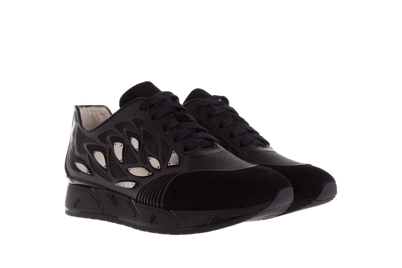 Sneakersy bayla-144 pj926l-2-1a black, skóra naturalna  - bayla - nasze marki 8