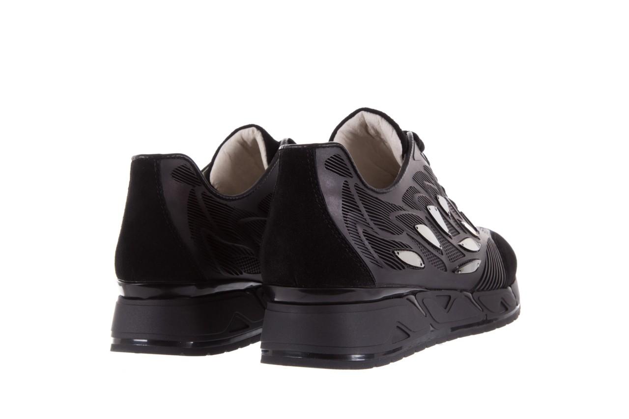 Sneakersy bayla-144 pj926l-2-1a black, skóra naturalna  - bayla - nasze marki 10