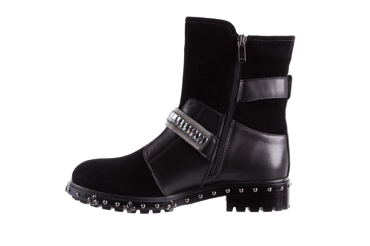Trzewiki bayla-144 9301 czarne, skóra naturalna - trzewiki - buty damskie - kobieta 13